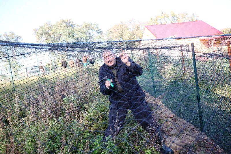 KL Daniel w Lesnie - Woliera 2010-10 10